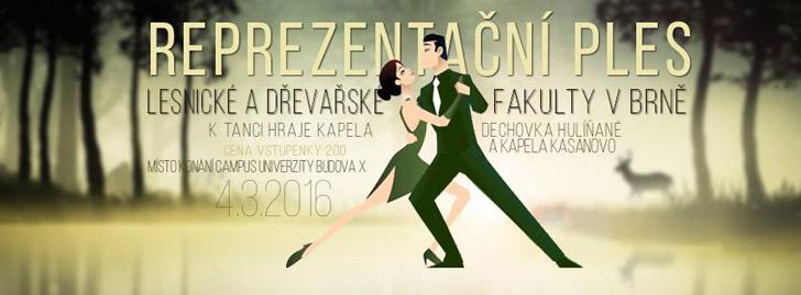 Reprezentační ples LDF Brno