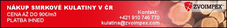 Zvoimpex - nákup smrkové kulatiny v ČR