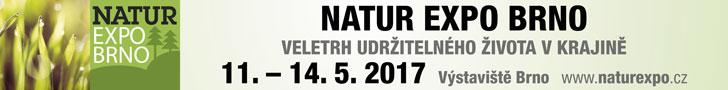 NATUR EXPO BRNO 11.-14.5. 2017