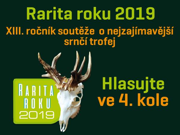 Rarita roku 2019 - hlasujte ve 4.kole