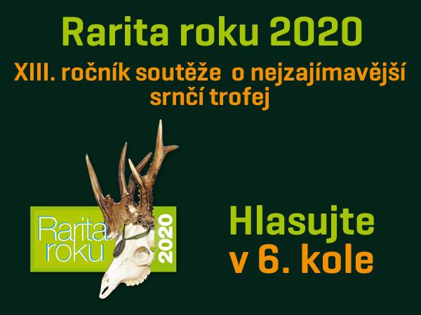 Rarita roku 2020 - hlasujte v 6.kole