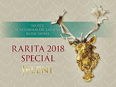 Rarita 2018 speciál – soutěž o nejzajímavější jelení trofej