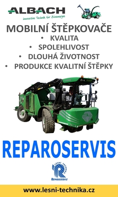 Reparoservis mobilní štěpkovače ALBACH/WÜST