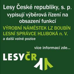 LČR - volná pracovní místa LZ Boubín