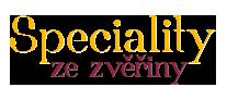 Speciality ze zvěřiny