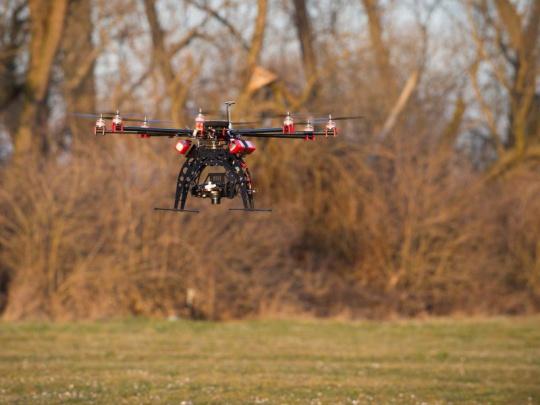 Drony a jejich využití v lesnictví