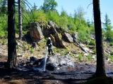 Hasiči vyjíždí k desítkám požárům lesů