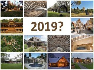 Hlasování v soutěži Dřevěná stavba roku 2019 pokračuje