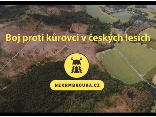 Na NEKRMBROUKA.CZ najdou vlastníci lesa nový videonávod o kůrovci