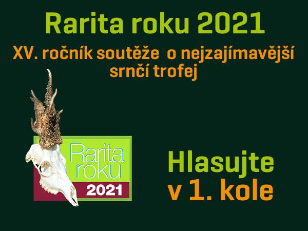 Rarita roku 2021 - hlasujte v 1.kole