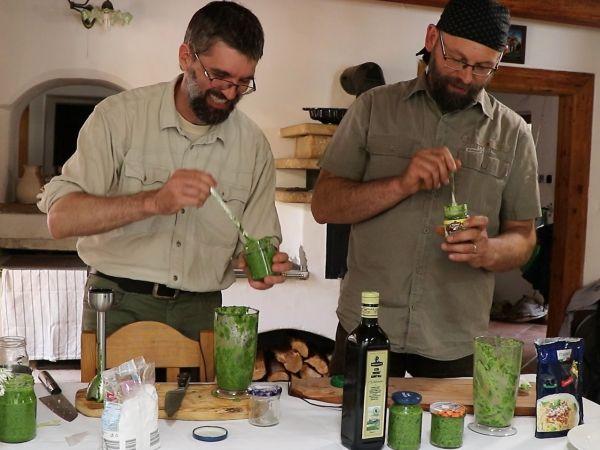 NOVÁ VIDEA Lesní lékárny: O česneku medvědím a recept na pesto
